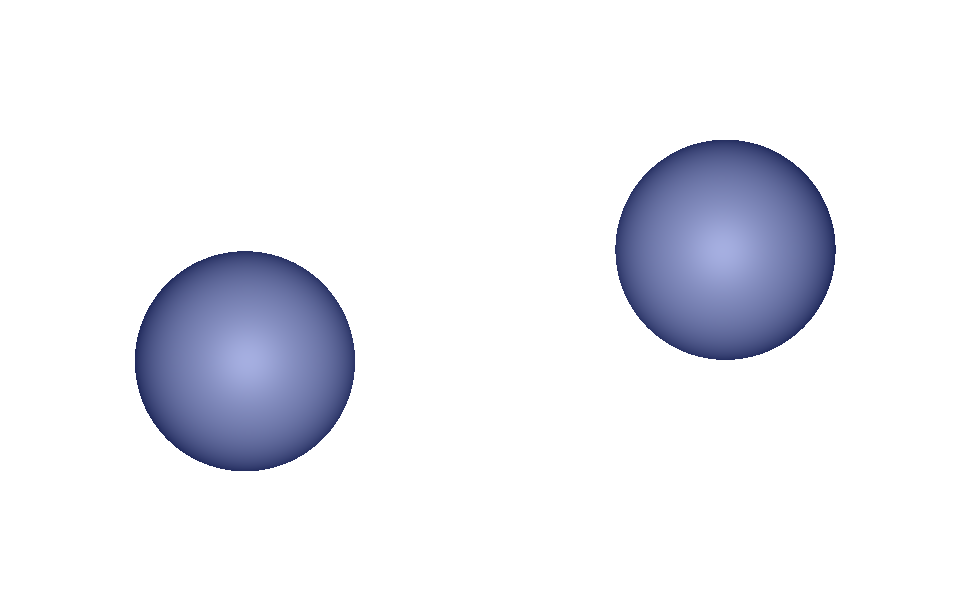 two metaballs not in contact